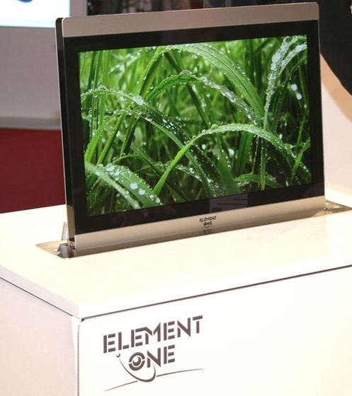 Convers 220 by ELEMENT ONE | Table integrated displays