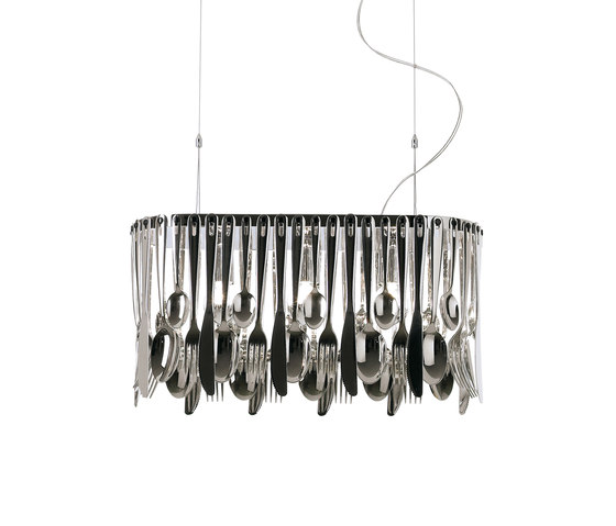 Hungry D76 A01 15 by Fabbian | Suspended lights