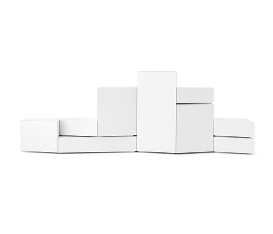 5 Blocks White de Opinion Ciatti | Buffets