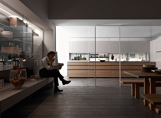 New Logica System Olmo Tattile by Valcucine | Fitted kitchens