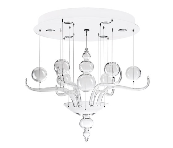 Spirito di Venezia F10 A01 00 by Fabbian | Ceiling suspended chandeliers