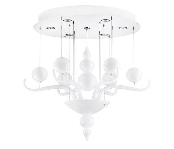 Spirito di Venezia F10 A01 01 di Fabbian | Lampadari da soffitto