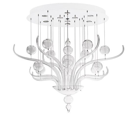 Spirito di Venezia F10 A03 00 by Fabbian | Ceiling suspended chandeliers