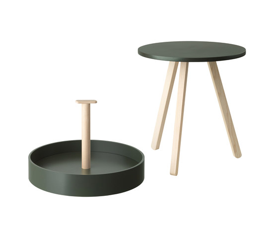 Giblitz Side table by Atelier Pfister | Trays