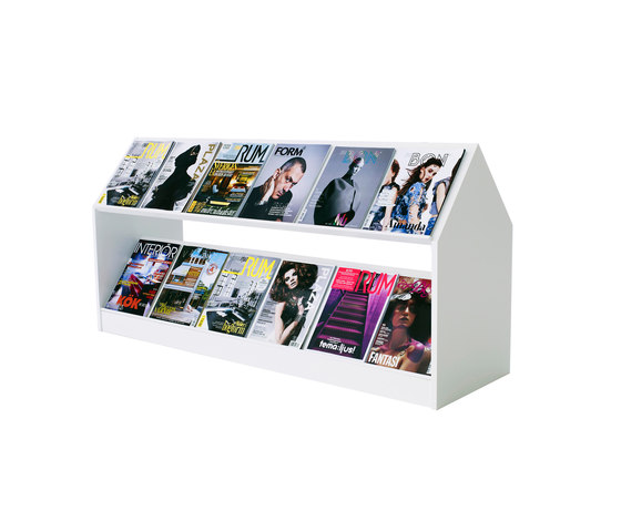 Block storage unit by Horreds | Brochure / Magazine display stands