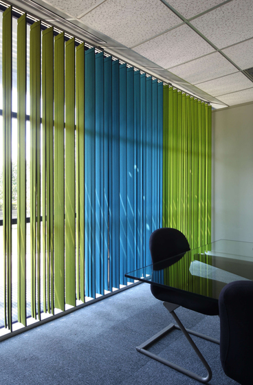 Vibrasto vertical blinds by Texaa® | Vertical blinds