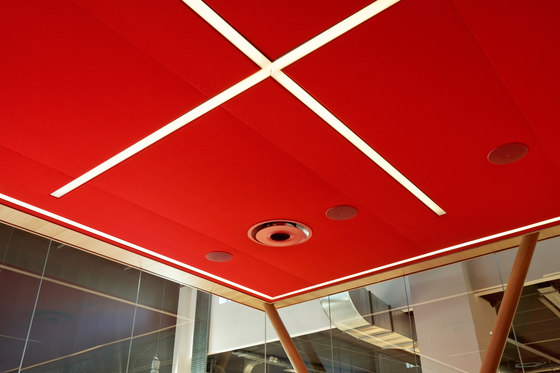 Vibrasto, acoustic material by Texaa® | Acoustic ceiling systems