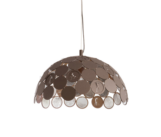 Pin Up hanging lamp di Brand van Egmond | Illuminazione generale