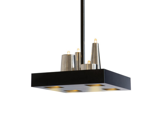 Table d'Amis hanging lamp square by Brand van Egmond | General lighting