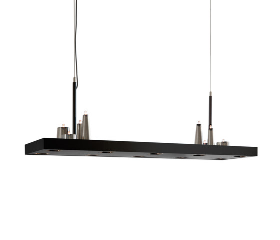 Table d'Amis hanging lamp long by Brand van Egmond | General lighting