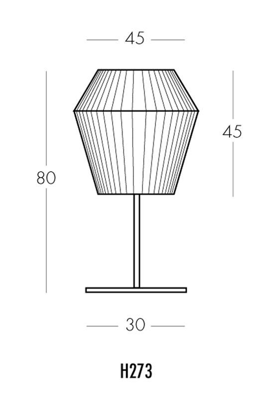 Ruban H273 Tischleuchte von Dix Heures Dix | Allgemeinbeleuchtung