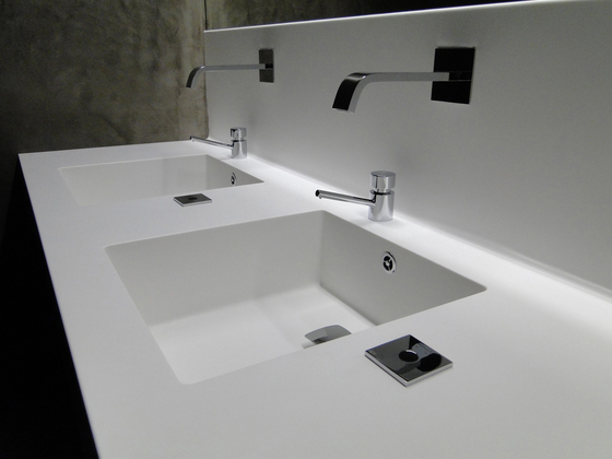 Basin Counter by AMOS DESIGN | Wash basins