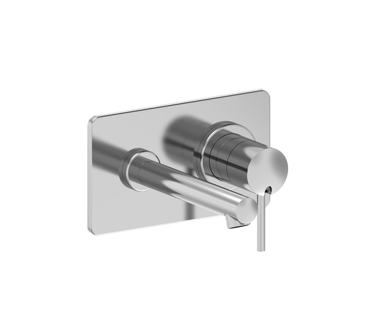 Twinprime pin | Concealed wall mixer by Laufen | Wash-basin taps