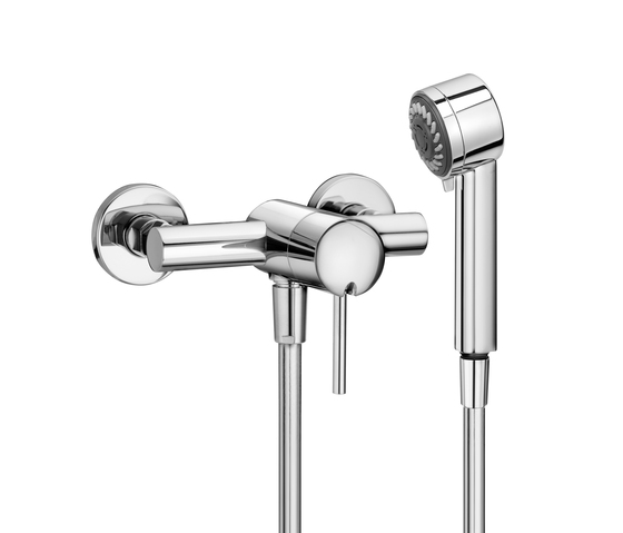 Twinprime pin | Shower mixer by Laufen | Shower taps / mixers