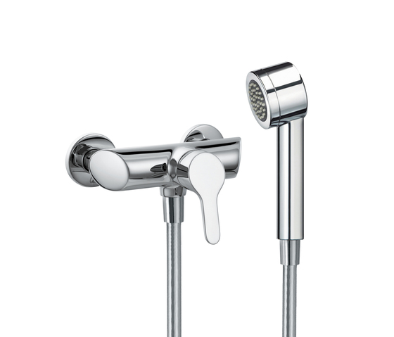 Twinpro | Shower single-lever mixer complete by Laufen | Shower taps / mixers