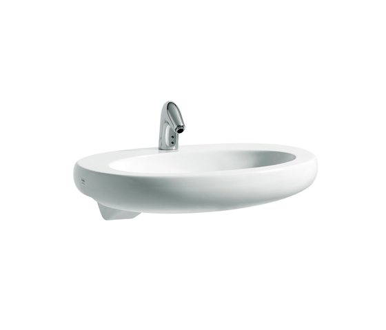 ILBAGNOALESSI One | Semi-recessed washbasin by Laufen | Wash basins