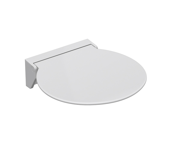 Hinged seat 380 by HEWI | Shower seats
