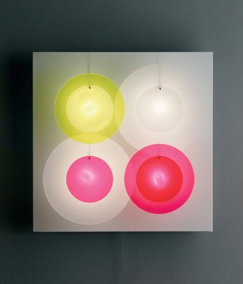 Illico 4 I424 wall lamp di Dix Heures Dix | Illuminazione generale