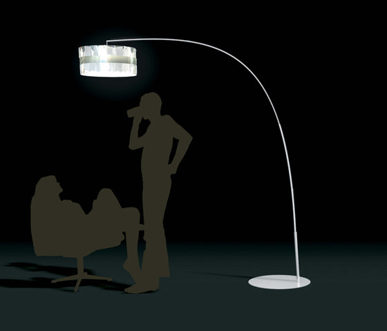 Ola de Holo I433 floor lamp by Dix Heures Dix | General lighting
