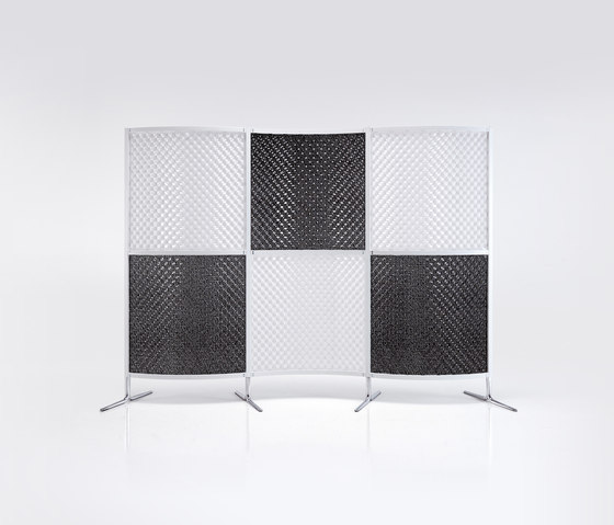 Archimede screen wall by Caimi Brevetti | Space dividers