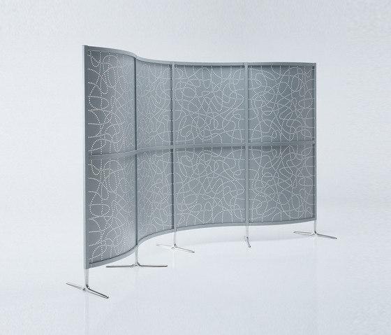 Archimede Stellwand von Caimi Brevetti | Raumteilsysteme