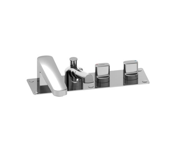Lb3 | Roman tub filler 4-holes di Laufen | Rubinetteria per vasche da bagno