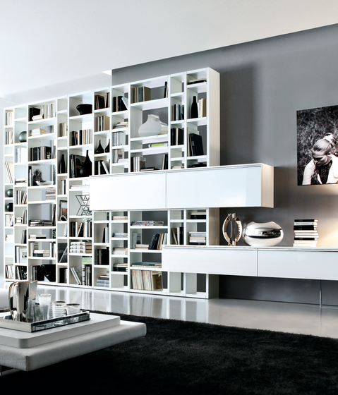 Crossing by Misura Emme | Shelving systems