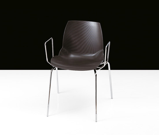 Kaleidos by Caimi Brevetti | Visitors chairs / Side chairs