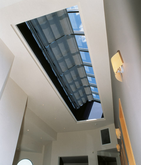 Skylight Shading System SG 2190 by Silent Gliss | Winter garden systems