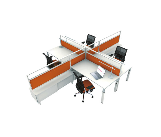 Kiron by Haworth | Desking systems