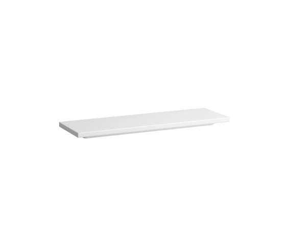 living square | Ceramic shelf by Laufen | Shelves