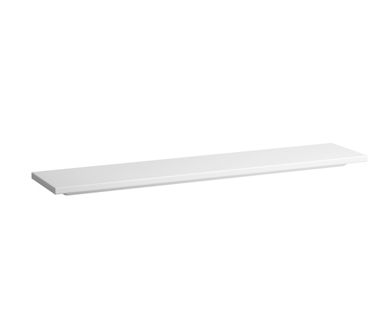 living square | Ceramic shelf by Laufen | Bath shelves