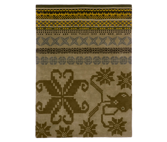 Folk Green by Nanimarquina | Rugs / Designer rugs