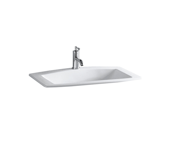 Mylife | drop-in basin by Laufen | Wash basins