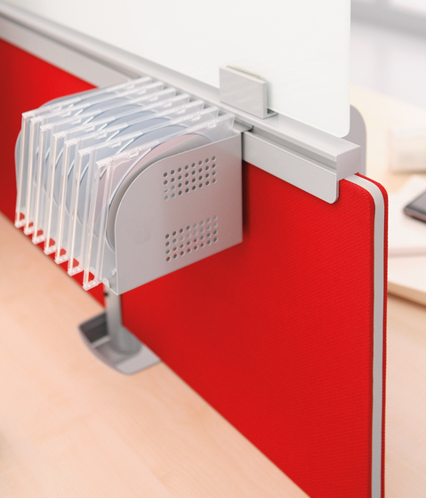 Universal Screens by Haworth | Table dividers