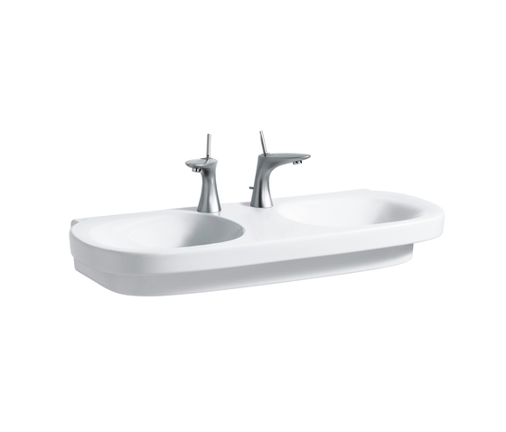 Mimo | Double washbasin by Laufen | Wash basins