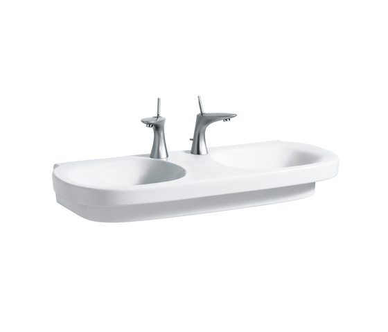 Mimo | Double washbasin by Laufen | Wash basins