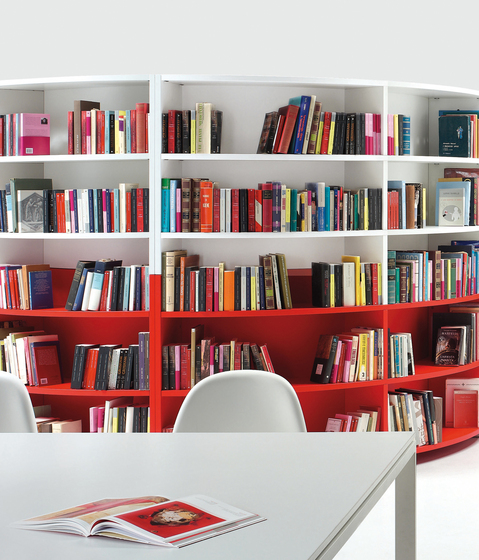 Bengentile Librerie by ULTOM ITALIA | Library shelving systems