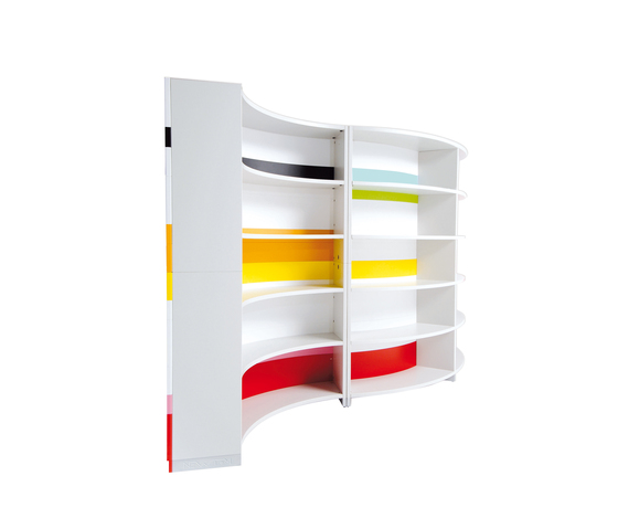 Twist by ULTOM ITALIA | Shelving systems