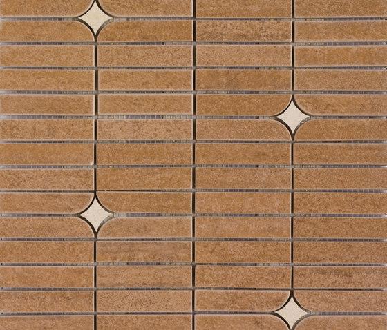 Mosaico Bósforo Noce by VIVES Cerámica | Ceramic mosaics