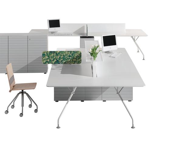 Prospero Bench by ULTOM ITALIA | Desking systems