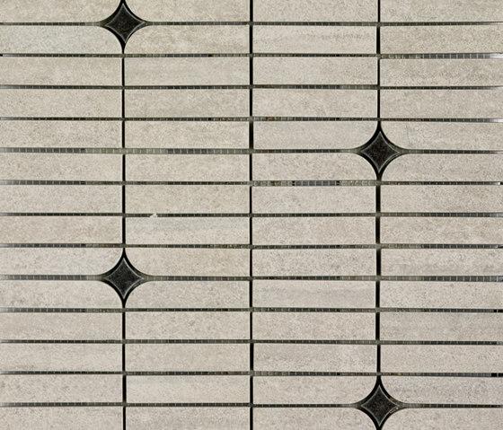 Mosaico Bósforo Gris von VIVES Cerámica | Keramik Mosaike