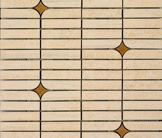 Mosaico Bósforo Beige by VIVES Cerámica | Ceramic mosaics