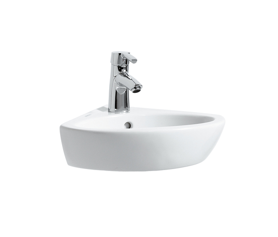 LAUFEN Pro B | Corner washbasin by Laufen | Wash basins