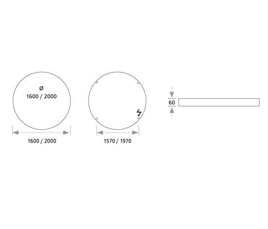 Highmoon flat LED by Sattler | General lighting