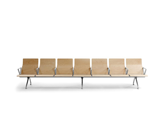Avant Wood by actiu   Waiting area benches