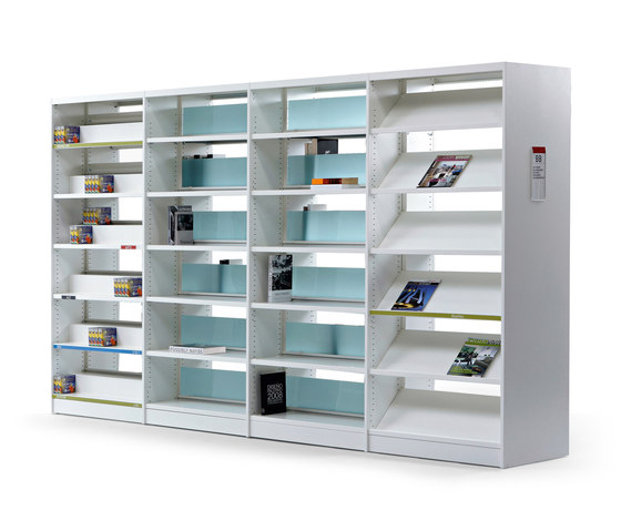 Class 10 by actiu | Library shelving systems