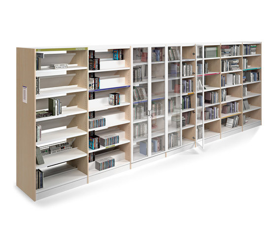 Class 20 by actiu | Library shelving systems