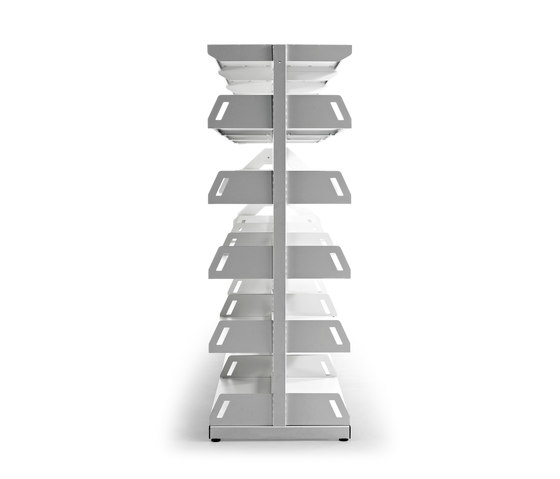 Level by actiu | Library shelving systems