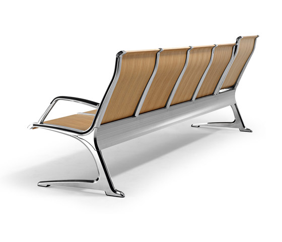 Passport Wood by actiu | Waiting area benches